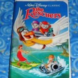 DISNEY 1977 BLACK DIAMOND CLASSIC - THE RESCUERS.